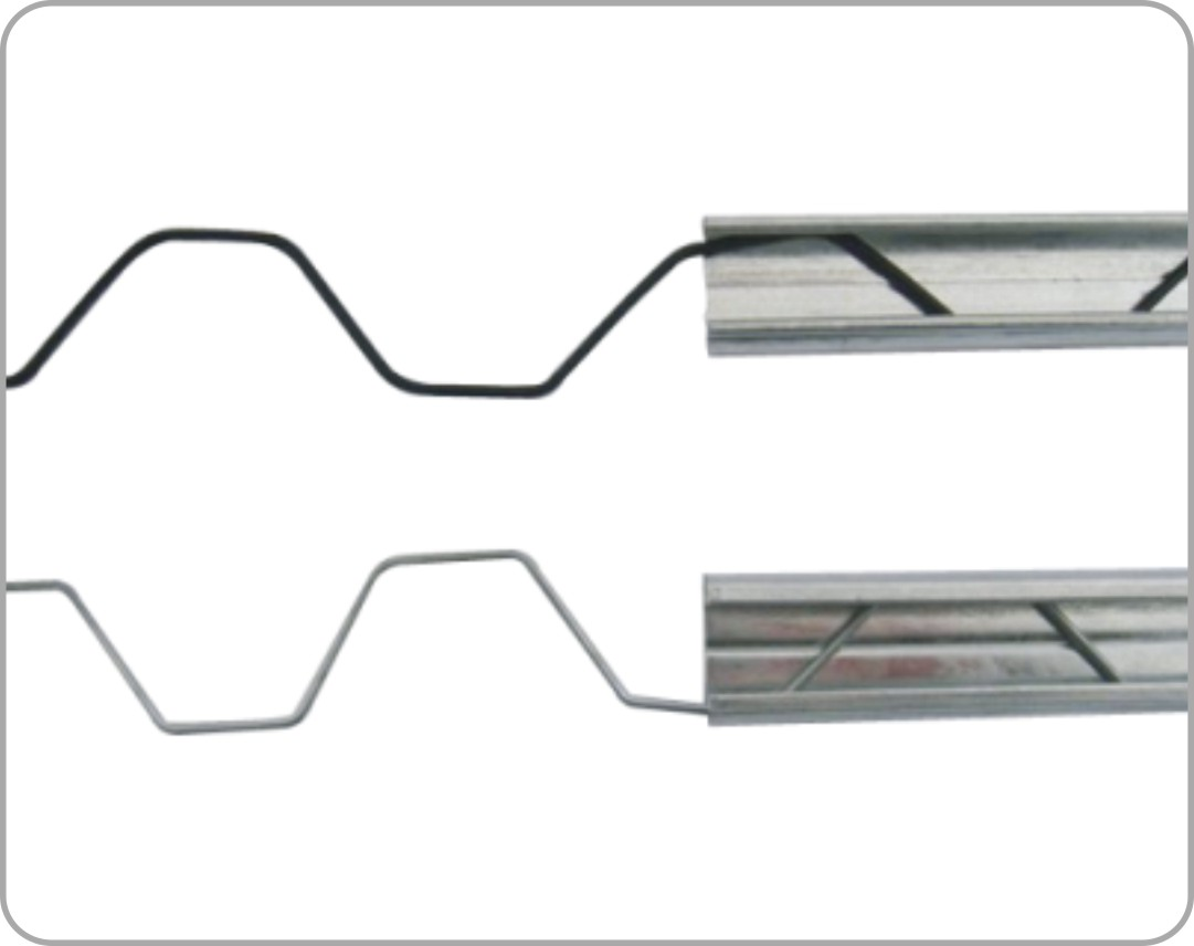 Wiggle Wires- GI Zig Zag Spring for Polyfilm or Net Locking