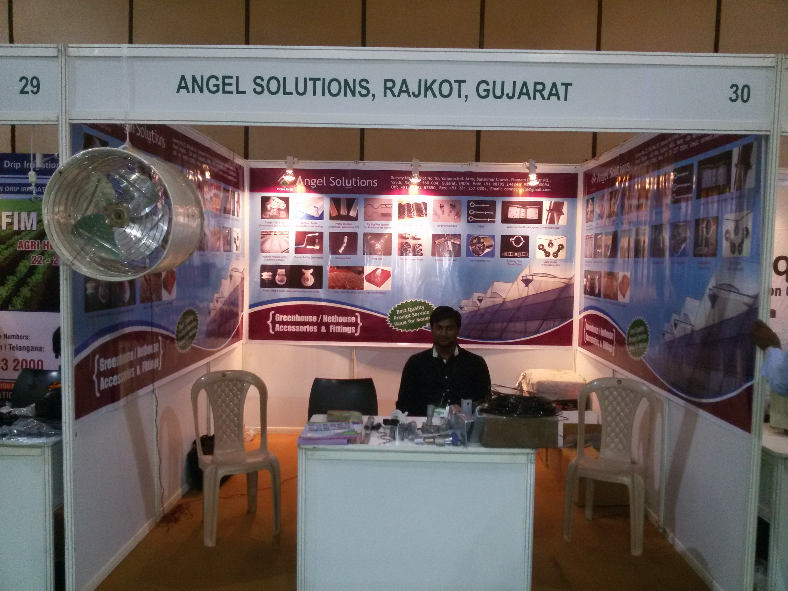 2016, AGRI HORTI TECH, HYDERABAD, INDIA